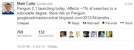 matt cutts penguin 2.1