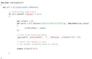 rankings-push-code