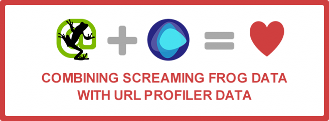 screaming frog + URL profiler = love image