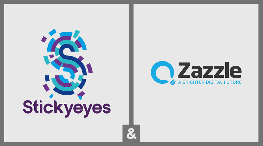 Stickyeyes and Zazzle Media