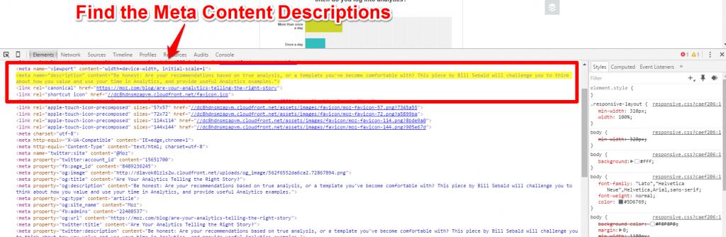 Moz Blog Inspect Element