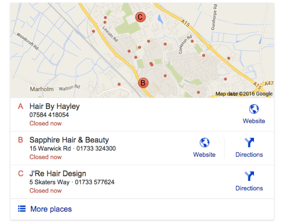 4.Google Local Example