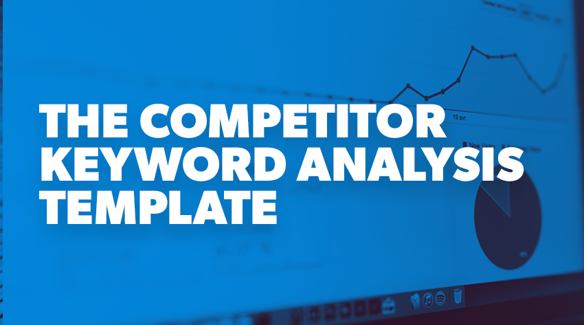 keyword analysis template
