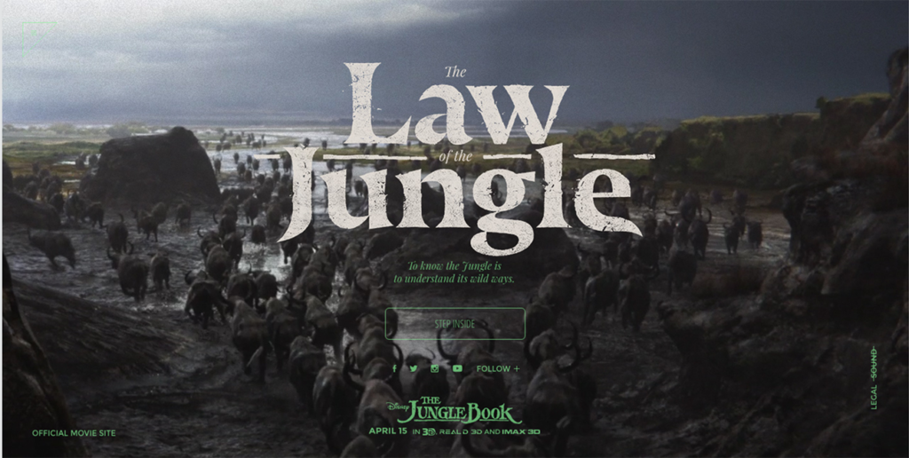 Typography - Jungle Book
