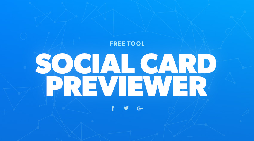 Social Card Previewer