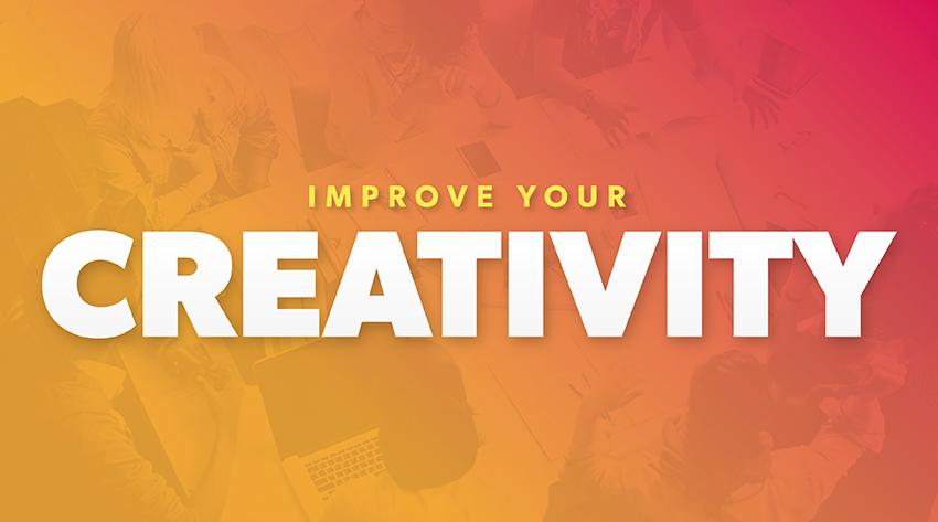 improve your creativity image
