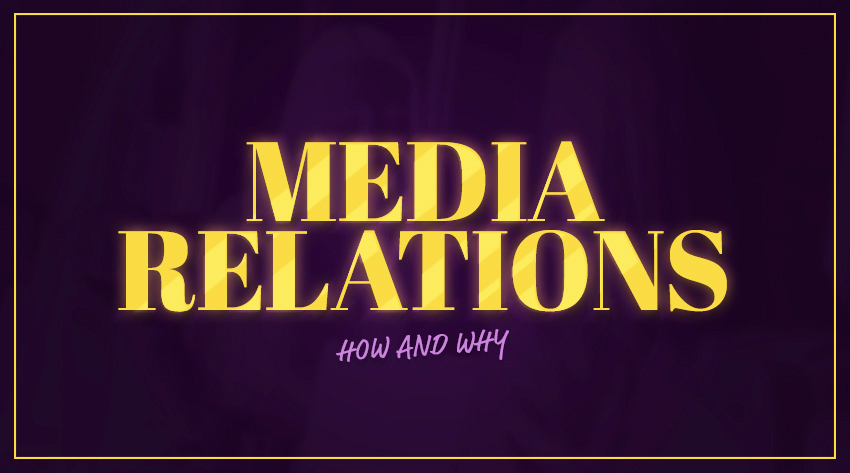 media relations how and why image
