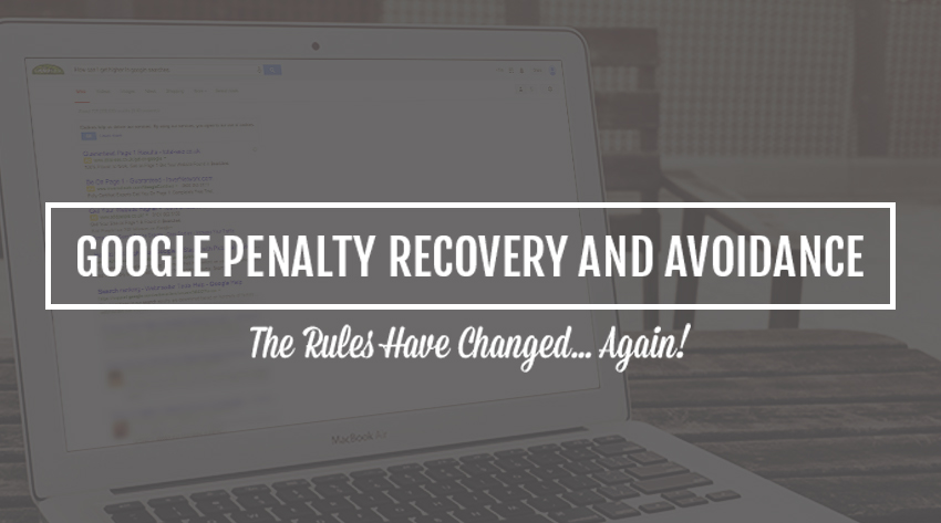 google penalty recovery and avoidance image