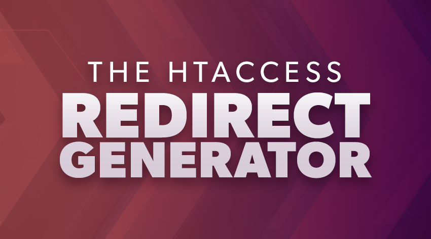 the htaccess redirect generator image