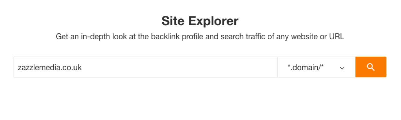 site explorer