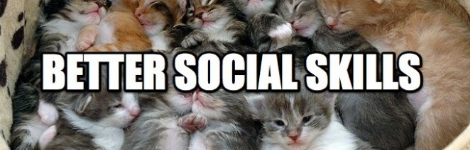 better social skills cat image