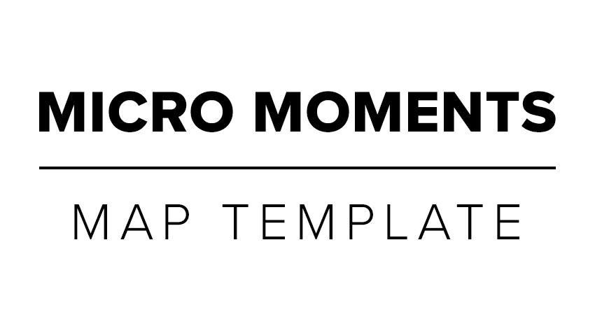 Micro Moments Map Template Zazzle Media