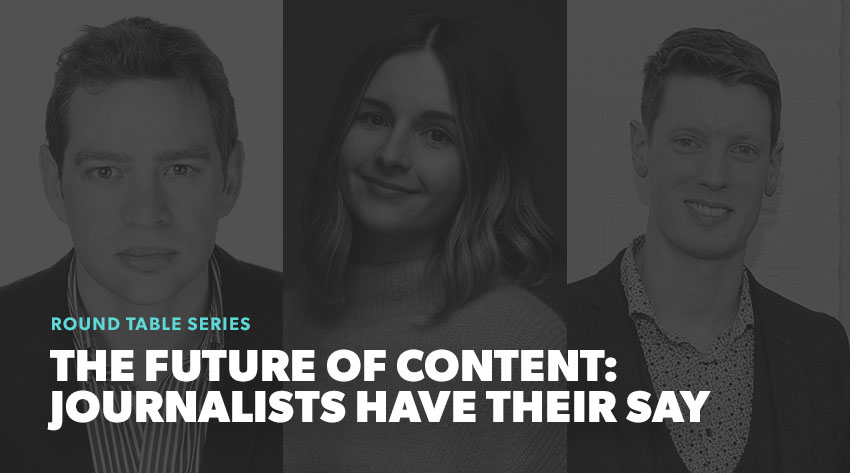 future of content journalists have their say image
