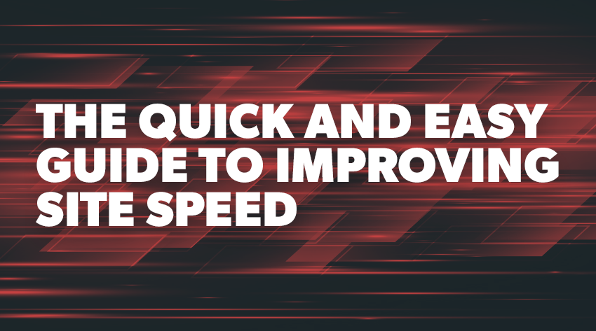site speed improving banner image