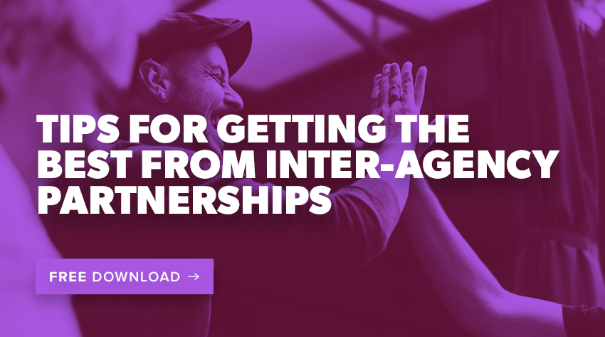 tips for getting the best from inter-agency partnerships banner image