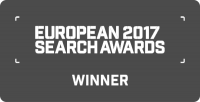 European 2017 Search Awards Winner
