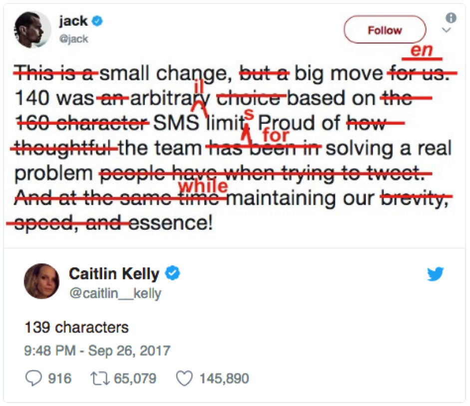 Why Marketers Should be Careful With the New Twitter Character Limit