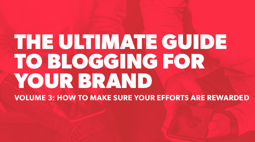 blogging for your brand volume 3