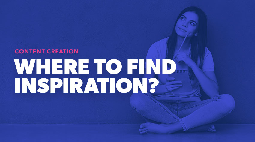 where to find inspiration for content blogs
