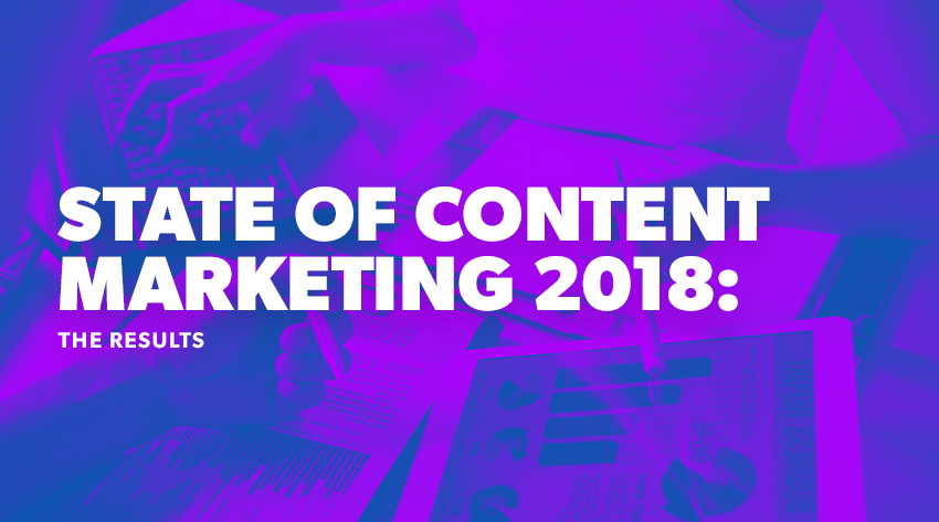 state of content marketing survey