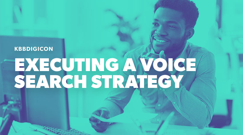 how to create a voice search strategy