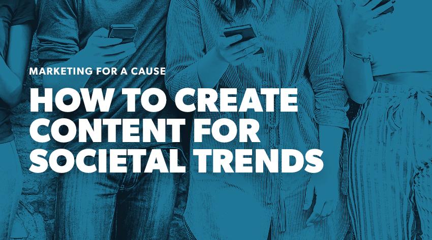 marketing societal trends