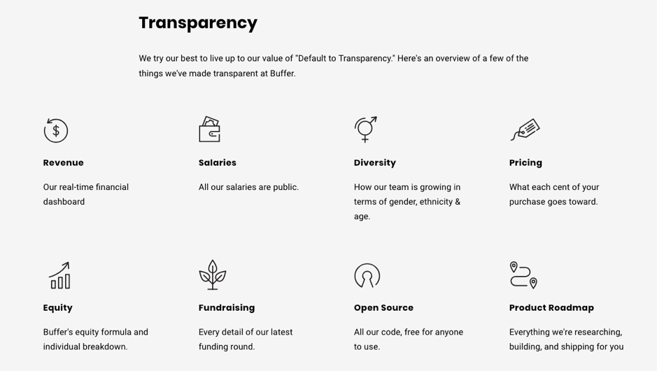 econsultancy report on transparency
