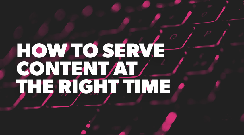 how to serve content