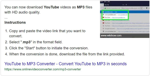 youtube to mp3 snippet